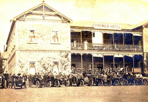 Cullinan Historical Premier Hotel 1906 as covered on Ekala's mine tours