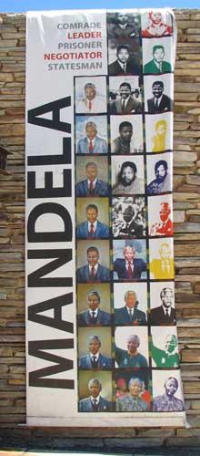 Nelson Mandela - Apartheid Museum