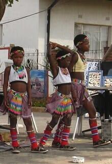 Soweto children performers