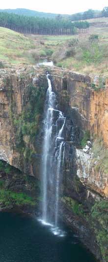 Waterfall Panorama route