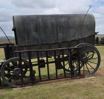 Bronze Wagon Battle of Blood River